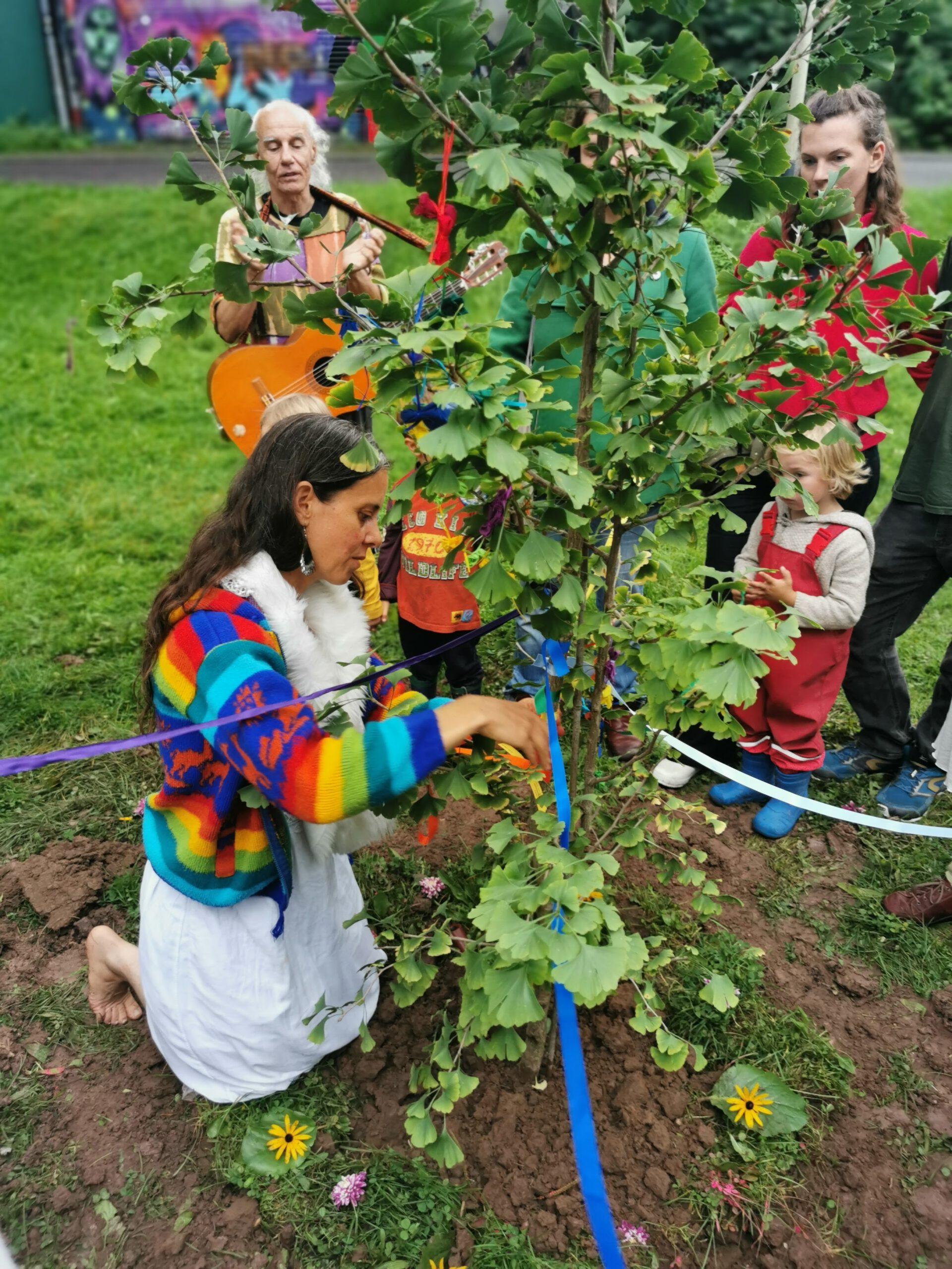 Friedensbaumpflanzung Limburg 15.9.2021